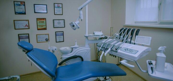 Ультразвуковая чистка зубов в стоматологической клинике «Monolit Dent»