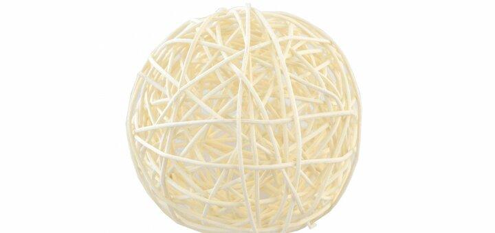 Скидка 10% на ротанговые шары от «Лавки материалов»