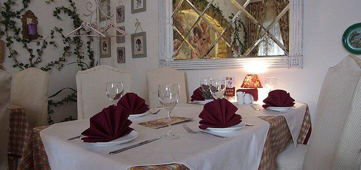 Сертификаты на ужин в ресторане украинской и европейской кухни «Золотая Подкова»