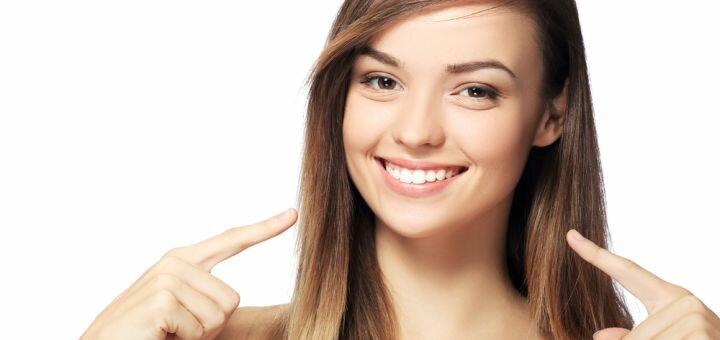 Скидка до 59% на лазерное отбеливание зубов «Magic Smile» с фторированием в салоне «Жаклин»