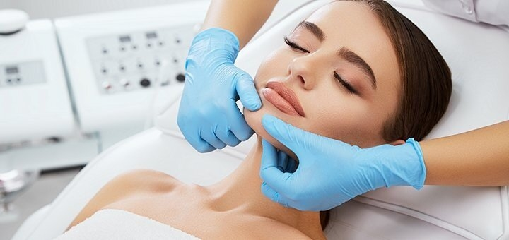 Чистка лица с маской или пилингом в косметологии доктора Ольги Ньорбы