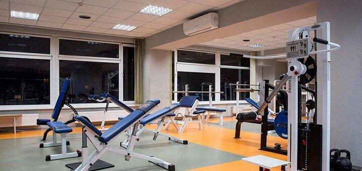 1 месяц безлимитного посещения тренажерного зала с фитнесом в фитнес-клубе «Spacehall»