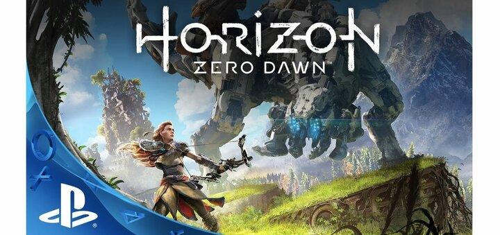 Скидка 200 гривен на Horizon Zero Dawn от «Грейпл»
