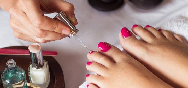 Индивидуальный курс обучения педикюру с покрытием гель-лаком в салоне красоты «Lady's Gler»