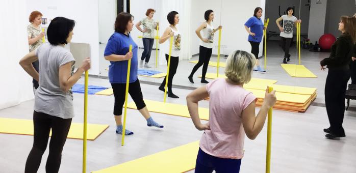 До 24 групових тренувань з шейпінгу у фінтнес-центрі «Плюс»