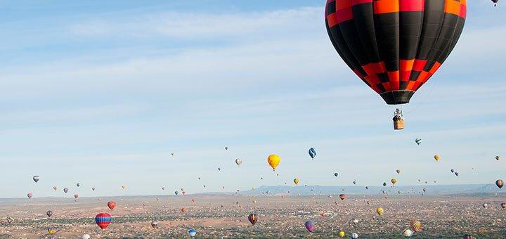 Скидка до 50% на полет на воздушном шаре от компании «Небо для тебе»