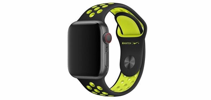 Скидка 300 гривен на ремешки Nike Sport Band Apple Watch от «Грейпл»