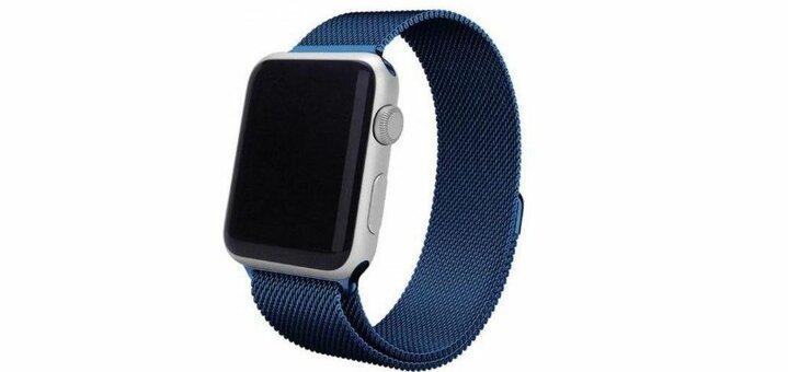 Скидка 275 гривен на ремешки Apple Watch «Миланская петля» от «Грейпл»