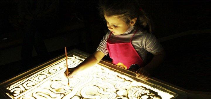 Мастер-класс по песочной анимации для взрослых и детей в студии «La Bricolage»!