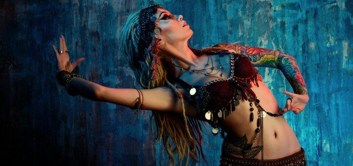 До 16 занятий восточными танцами для начинающих в студии танцев «Fusion Dance»