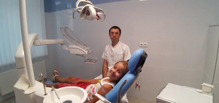 Лечение кариеса с установкой фотополимерных пломб в стоматологической клинике «Журавлина»