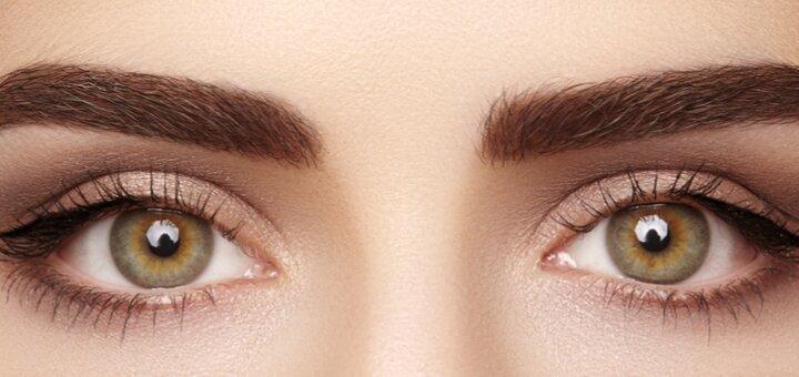 Моделирование, коррекция, окрашивание или SPA-окрашивание бровей от студии красоты «AntiSalon»