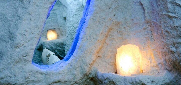 До 5 посещений для взрослого и ребенка от 3 до 7 лет в «Соляная пещера на Оболони»