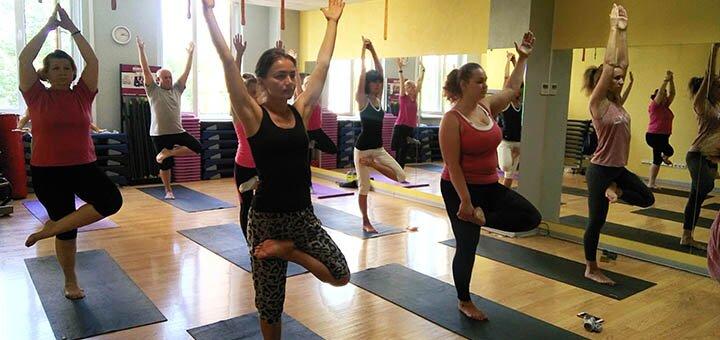 До 32 занятий по всем направлениям йоги от фитнес-центра «GraFit»