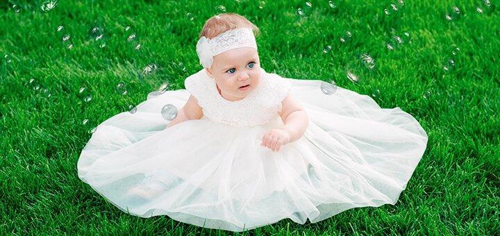 До 2 часов детской выездной фотосессии от фотографа Эвелины Мриль