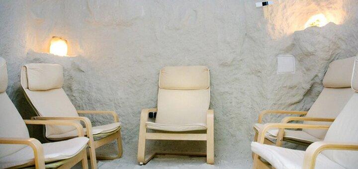 До 5 посещений соляной комнаты для пенсионера в оздоровительном комплексе «Соляная пещера на Оболони»