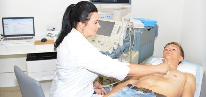Комплексное обследование у терапевта в сети клиник «VIVA»