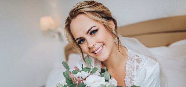 Свадебный макияж от косметолога Ирины Орел