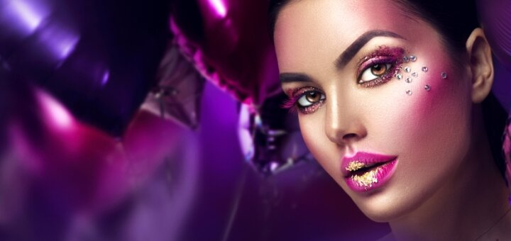 Креативный макияж от косметолога Ирины Орел