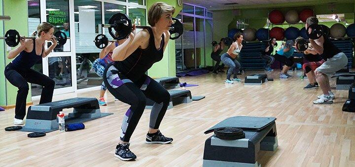 1 месяц посещения спортивного клуба «Sport & Spa» на Борщаговке