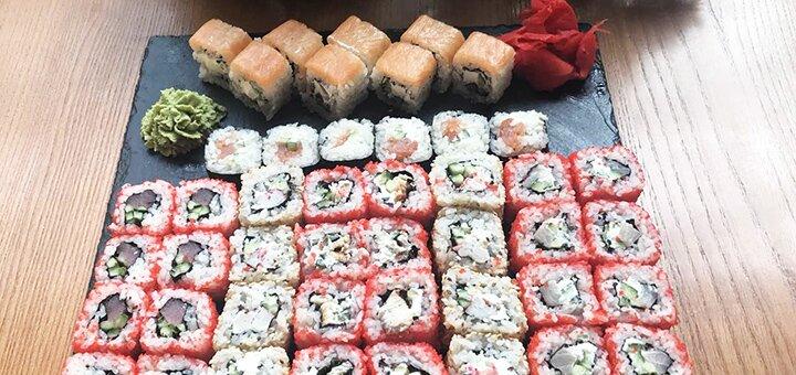 Скидка 50% на суши-сет от суши-бара «Золотой дракон»