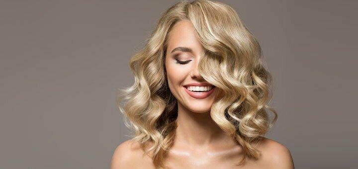 Элегантная укладка волос от Марины Славатинской