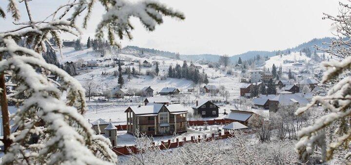 7 дней отдыха на Новый год в отеле «Золотая подкова» в Славском