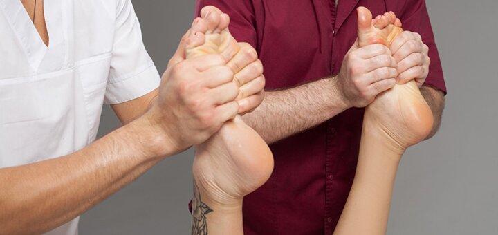 До 5 сеансов оздоровительного массажа стоп в студии массажа «Beauty Club Baldini»