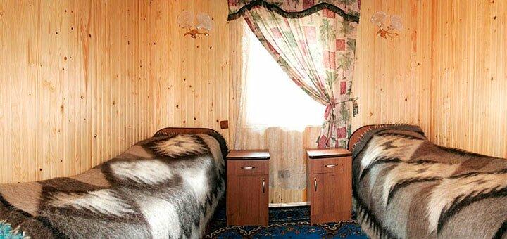 От 3 дней горнолыжного зимнего отдыха в усадьбе «Гуцульский край» в Карпатах