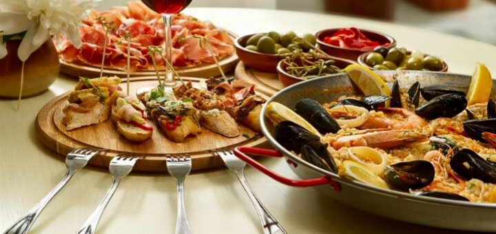 Сертификаты на банкет в ресторане с аутентичной кухней Испании «Gastro Teatro»