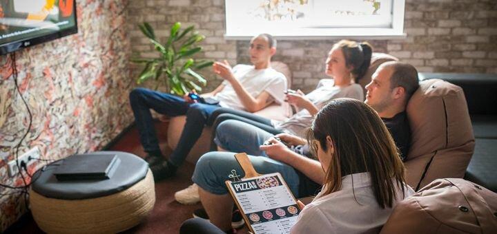 Скидка до 50% на все меню кухни, напитки, игру в PlayStation и бильярд в лаунж-клубе «Persona»
