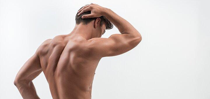 Лазерная эпиляция мужской спины в студии лазерной эпиляции «Sliding Butterfly»