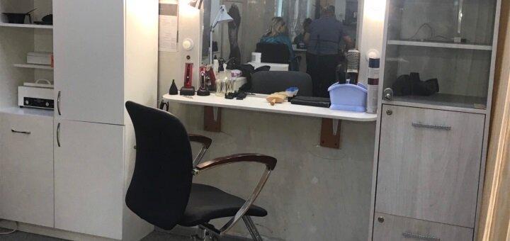 Женская и мужская стрижка, укладка, окрашивание омбре и полировка в салоне «Salon Sofia Beauty»