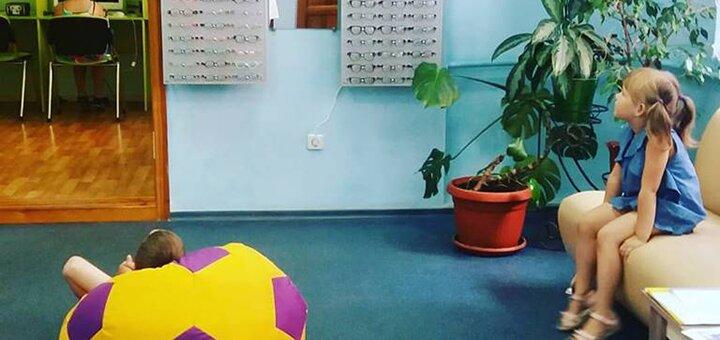 Лечение на аппарате «Амблиопанорама» в медицинском центре «Baby Luck»