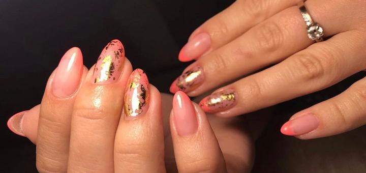 Скидка до 53% на маникюр с покрытием гель-лаком от студии «Angelina nails»