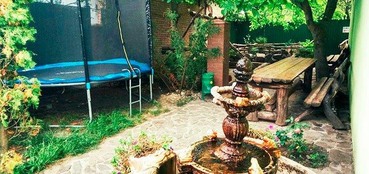 От 3 дней отдыха осенью с питанием в отеле «Водопад» под Хмельницким