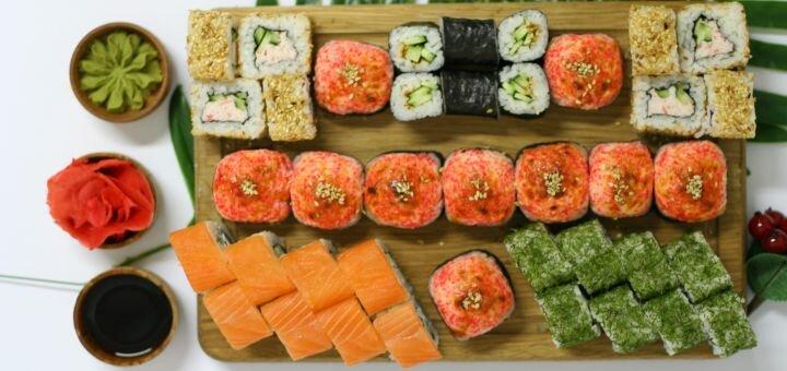 Скидка 45% на килограммовый суши-сет «Фудзияма» в магазине «Суши Сет»