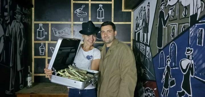 Посещение квест-комнаты «Тайник Робби Бакса» от квеструма «Anabioz»
