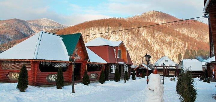 От 4 дней празднования Нового года с банкетом и развлечениями в отеле «Трембита» в Межгорье