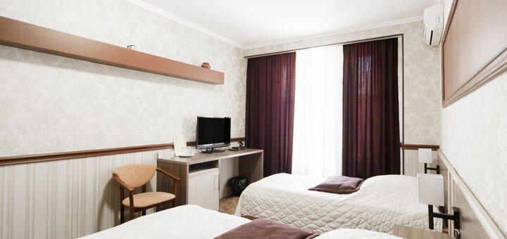 От 2 дней отдыха весной в отеле «Терра 7+» в самом центре Одессы