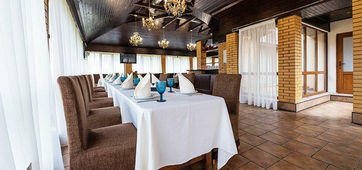 От 2 дней отдыха с завтраками в гостинично-ресторанном комплексе «Бабай Садиба» под Киевом