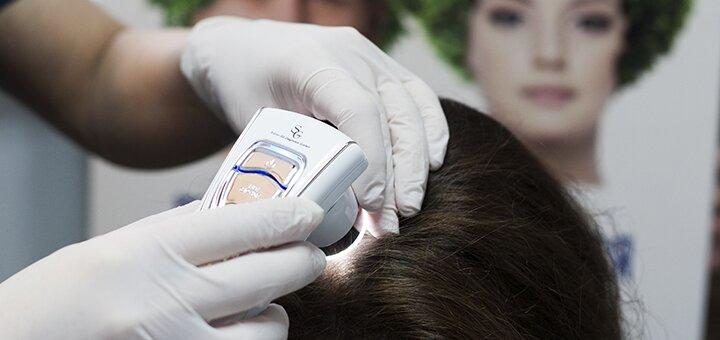 Обследование у трихолога, мезотерапия и лазерная терапия волос и кожи головы в «RubenHair»