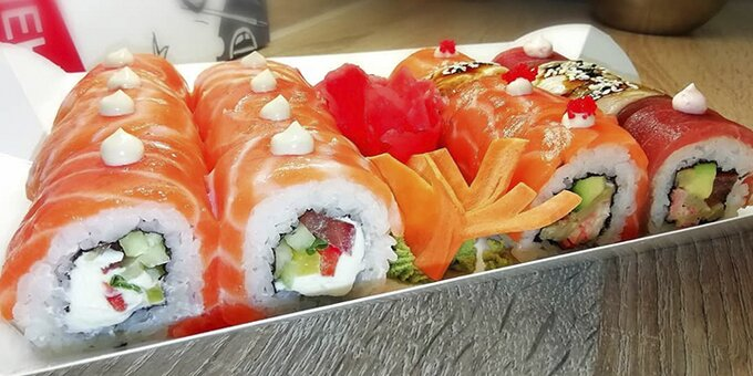Сет «Дракон» в суши-баре «Пан-Кемон»