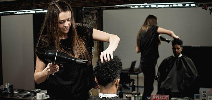 Мужская стрижка, укладка, коррекция бороды и бритье в барбершопе «BarberShop 99»