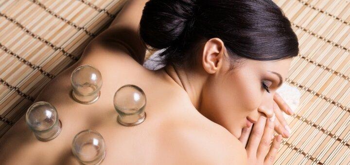 До 7 сеансов вакуумно-баночного массажа в салоне красоты «Живана»