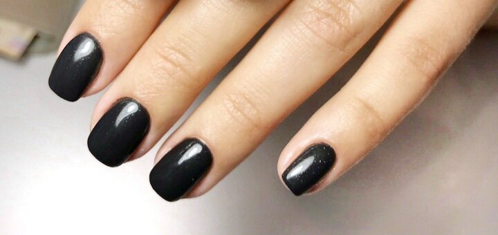 Покрытие ногтей без маникюра от топ-мастера студии красоты «Total look»