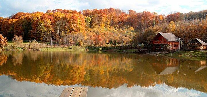 От 3 дней отдыха в коттедже «Дача у Ивана» на берегу озера под Черновцами