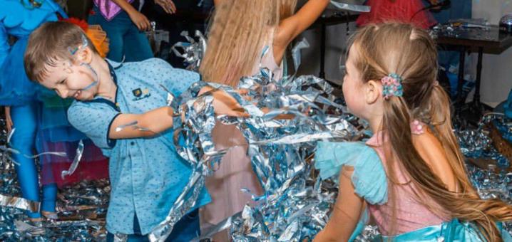 Скидка 30% на детскую шоу-программу «Серебрянная дискотека» от студии праздников «Lunatiki»
