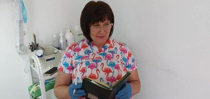 Комбинированная или механическая чистка лица в кабинете косметологии Мышанской Светланы