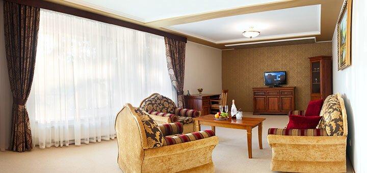 От 3 дней отдыха зимой с завтраком и посещением SPA в резорт-отеле «Шервуд» под Львовом